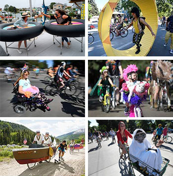 Examples of ideas from entries in the Chainless Bike Race and Tour De Fat